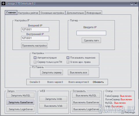 Готовый Сервер L2TD 0.2 Interlude