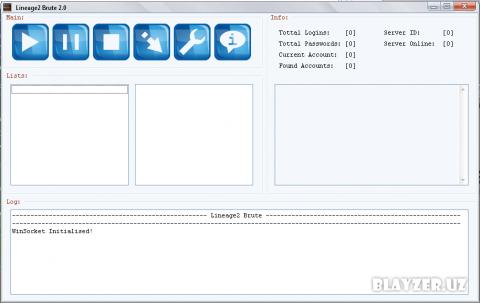 L2Brute 2.0 - програма для взлома акаунтов л2