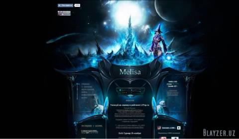 Rip Шаблон сайта Meliisa для stress web 13