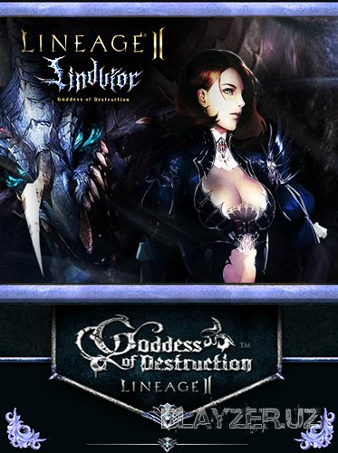Клиент Lineage 2 - Goddess of Destruction Lindvior v3,0. Geodata. Web Шабл