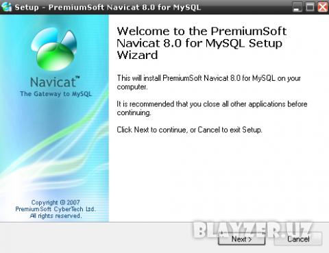 Navicat 8.0 for MySql