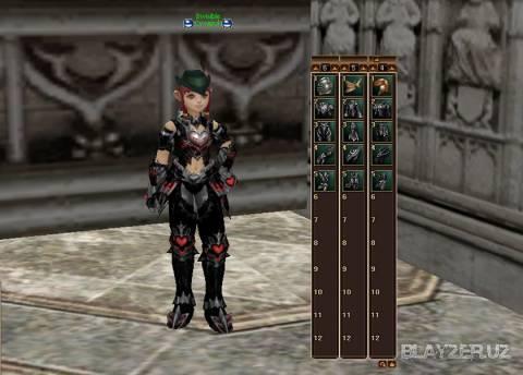Abyssal Armor (Vesper) для Interlude