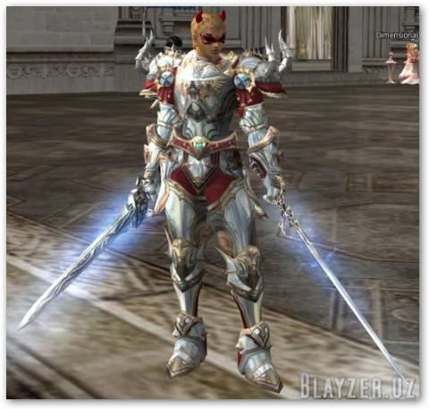 Dynasty armor and weapon