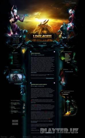 Шаблон Для Игрового Портала Lineage 2 (Dle 9.2)