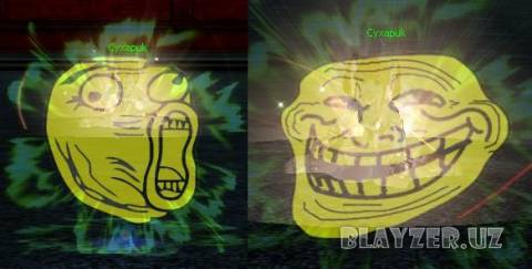 NEW Klick Troll Face