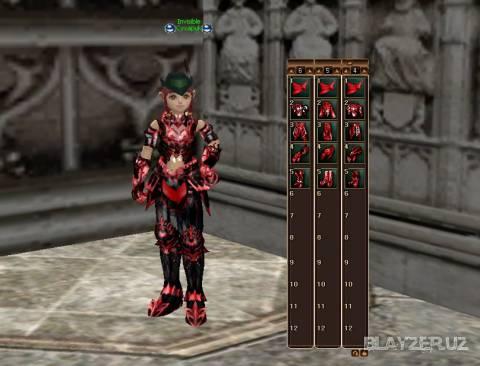 Red Vesper Armor для Interlude