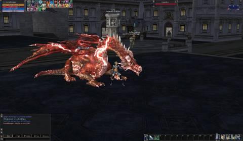 [NPC] Dragon Electro для Interlude