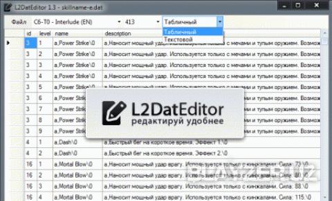 L2DatEditor 1.3