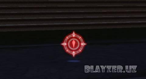 Красный курсор для LineageII