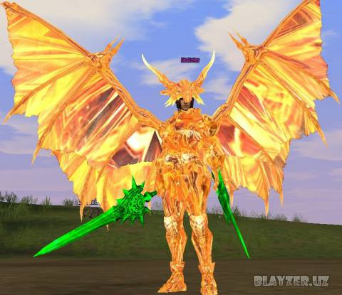 [Interlude] Gold Valakas set + Wings