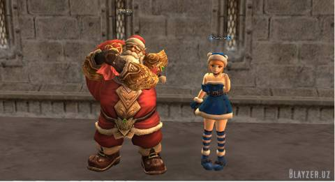 [NPC] Santa Claus и Santa Girl для interlude