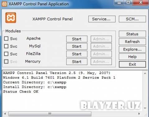 xampp-win32-1.6.6