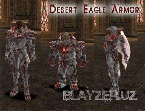 [Interlude] Desert Ealgle Armor