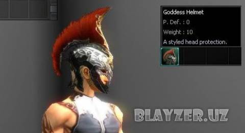 [Interlude] Goddess Helmet