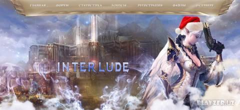 Шаблон сайта Interlude.uz by Flash