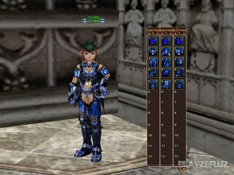 Blue Vesper Armor для Interlude
