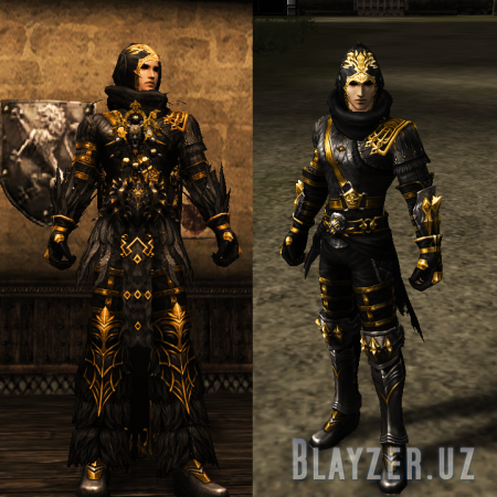 Golden Armor Assassin